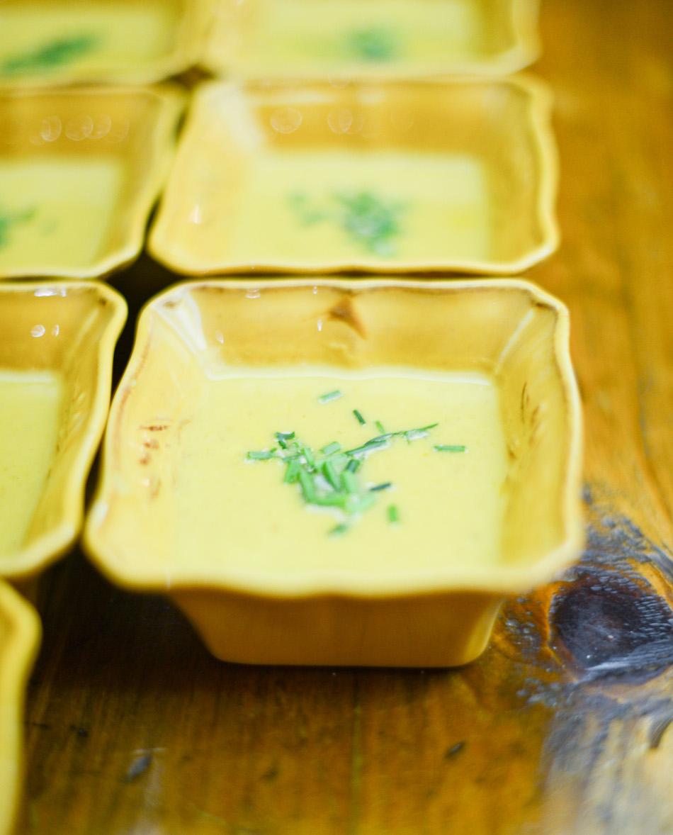 Garnish your Artichoke Soup
