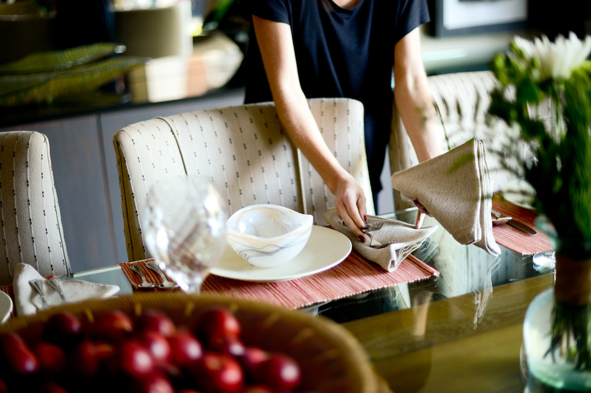 Set the Table // FashionableHostess.com
