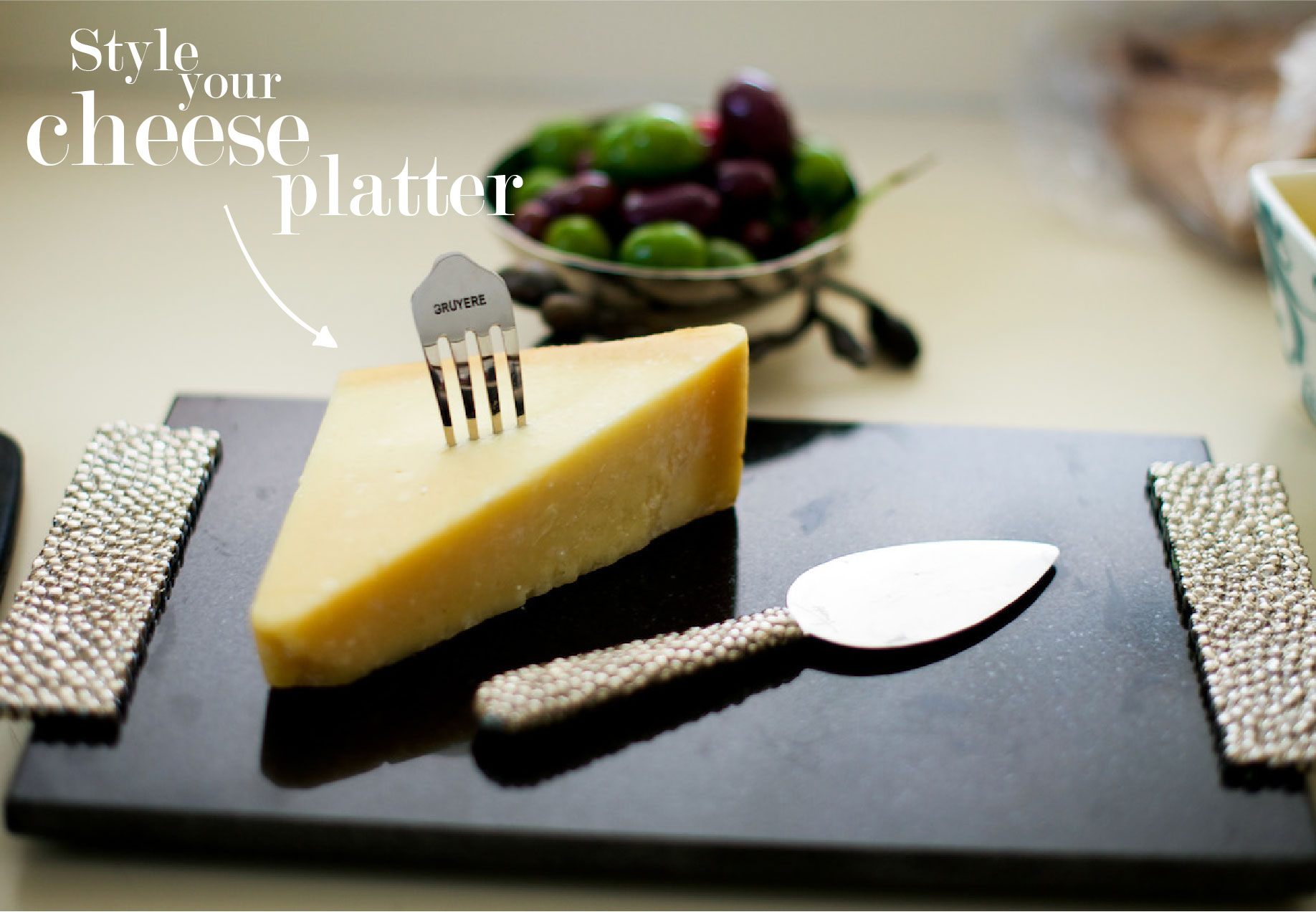 Style your Cheese Platter by the Fashionable Hostess