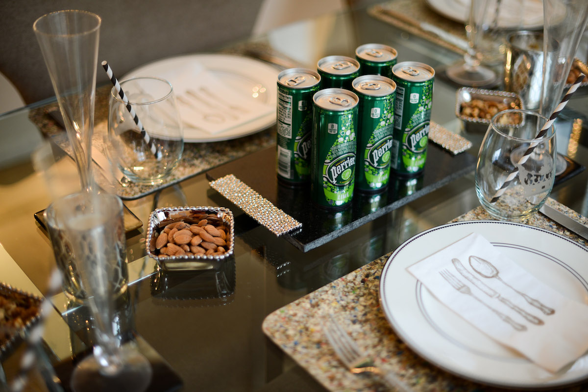 Perrier is served!