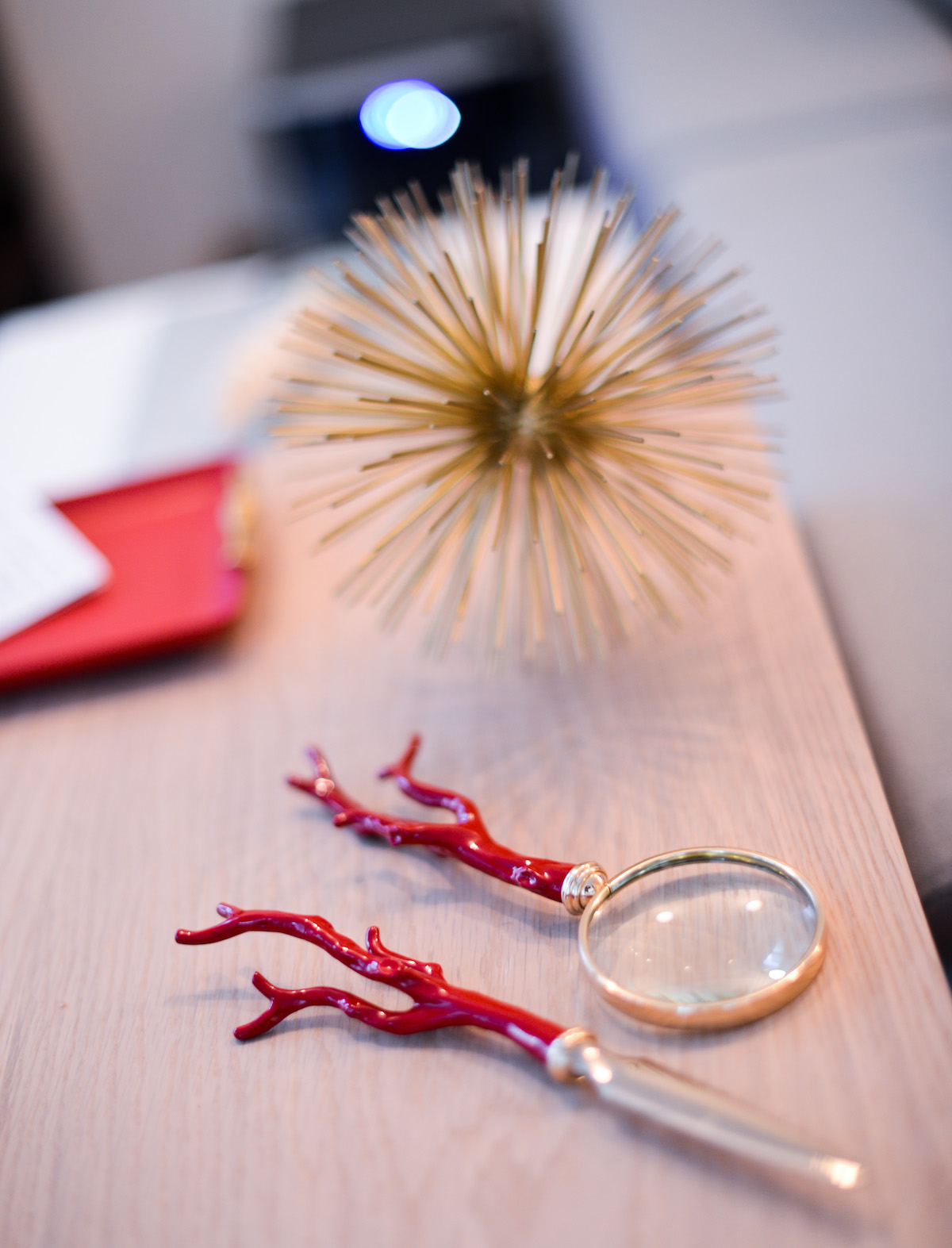L' Objet Coral Desk Accessories