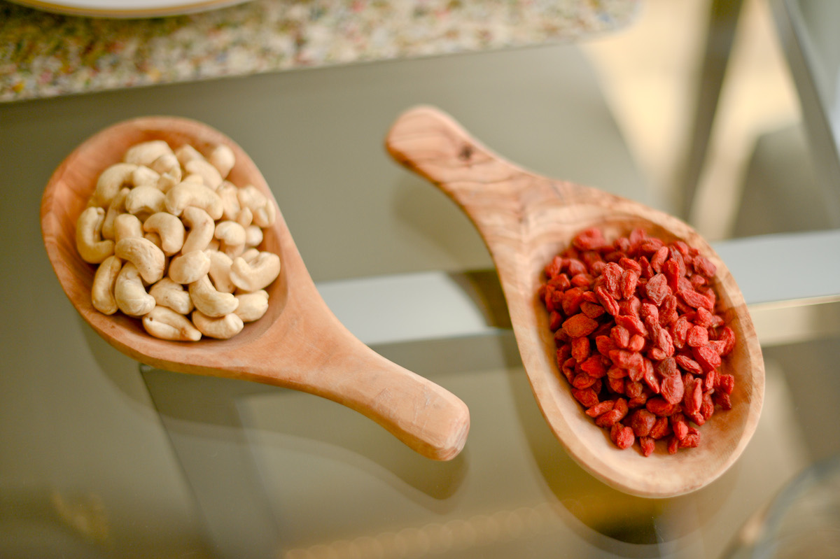 Nuts + Goji Berries  // FashionableHostess.com