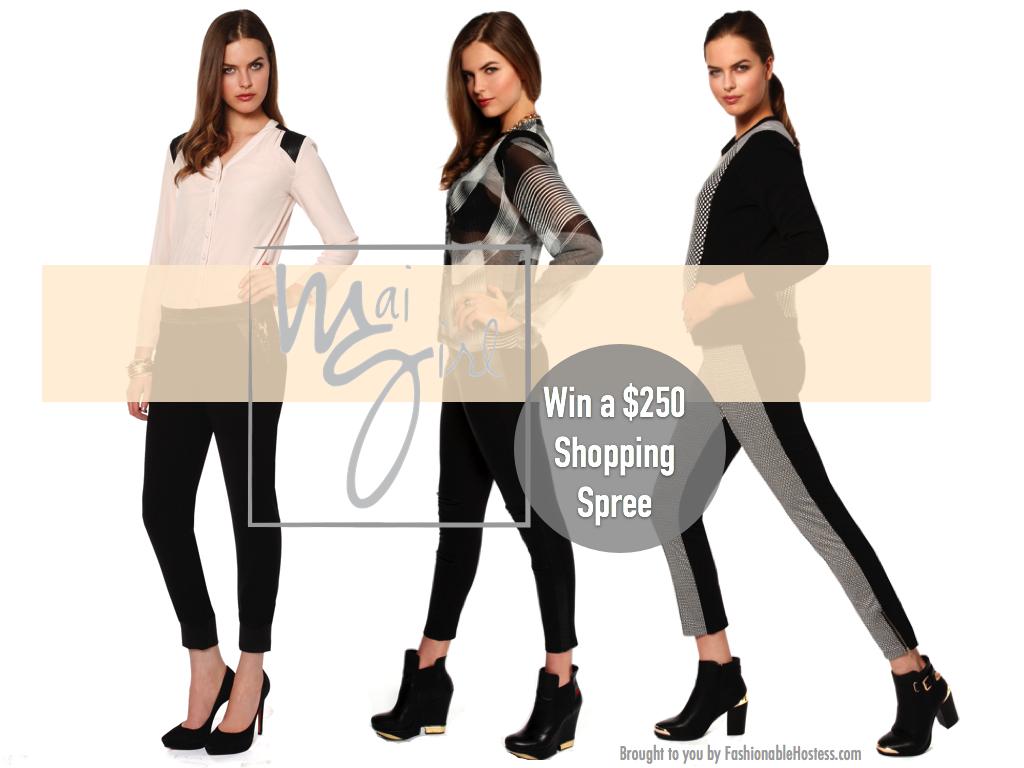Win a Mai Girl Shopping Spree // FashionableHostess.com