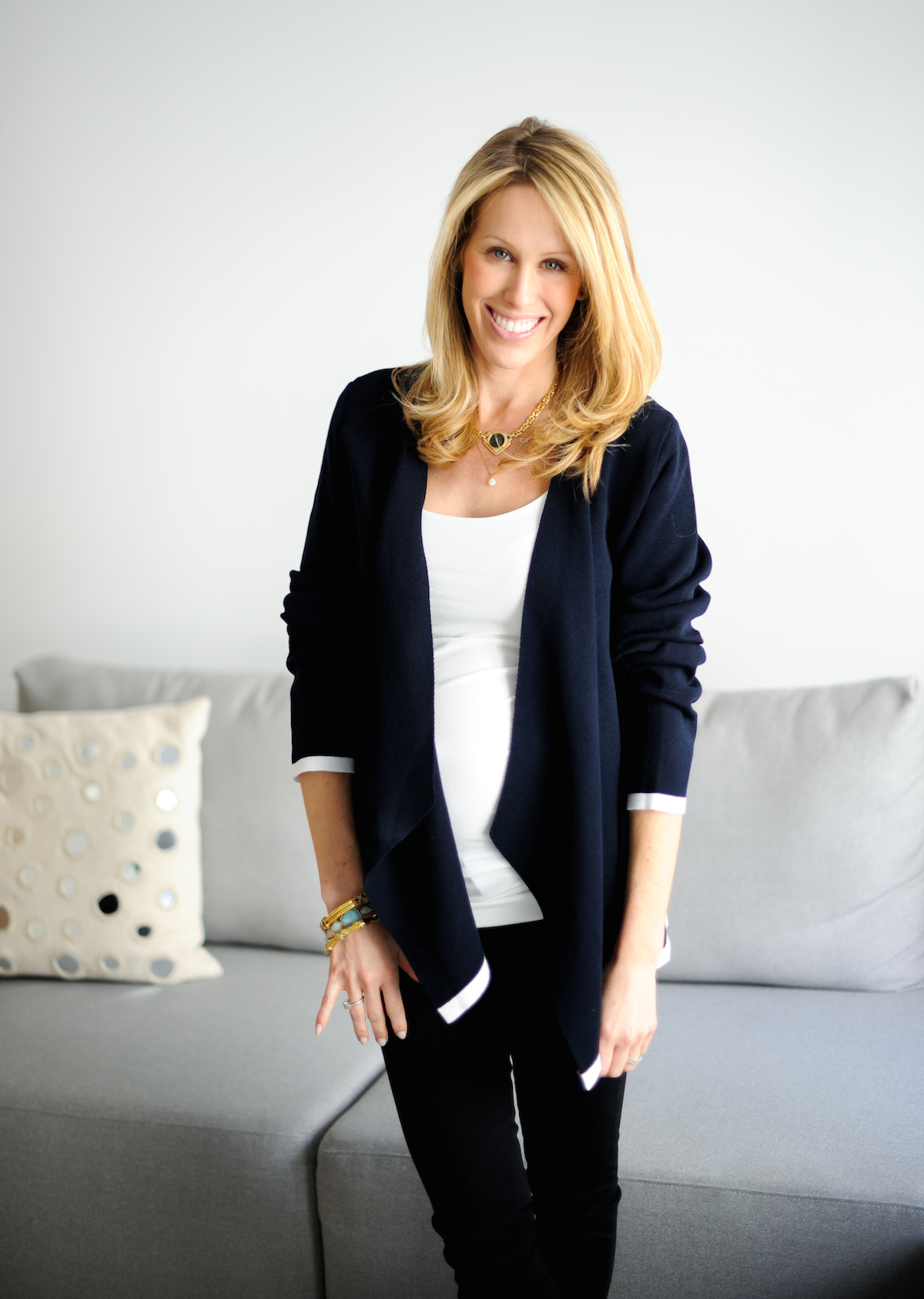 Jones New York Cardigan + Amanda Gluck of FashionableHostess.com