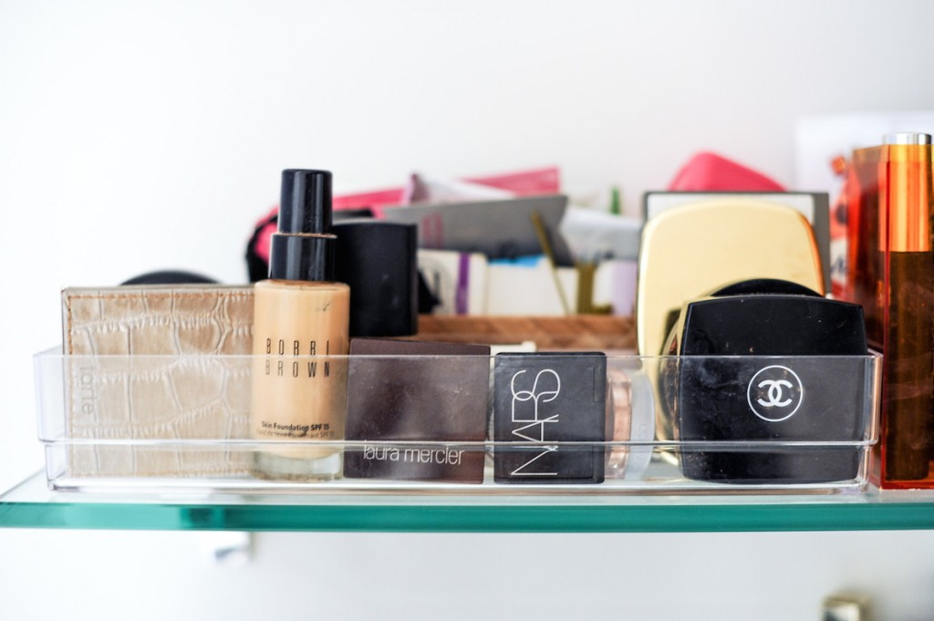 Chanel Bobbi Brown and Nars Makeup Organized