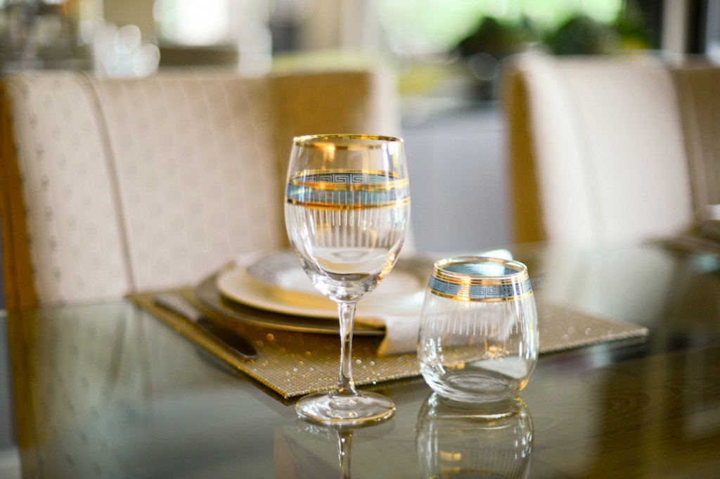 Wine Glasses // FashionableHostess.com