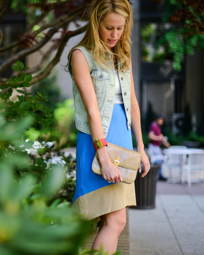 Denim Vest for Spring  :: Fashionable Hostess