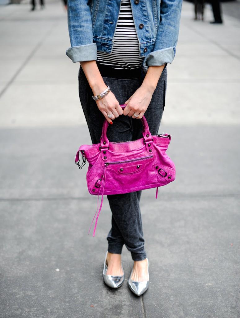Pink Balenciaga // FashionableHostess.com