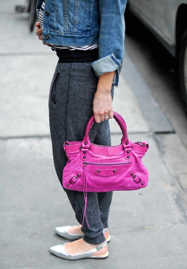 Balenciaga Pink Bag for Spring // FashionableHostess.com