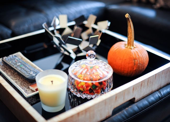 Halloween Home Decor by Fashionable Hostess