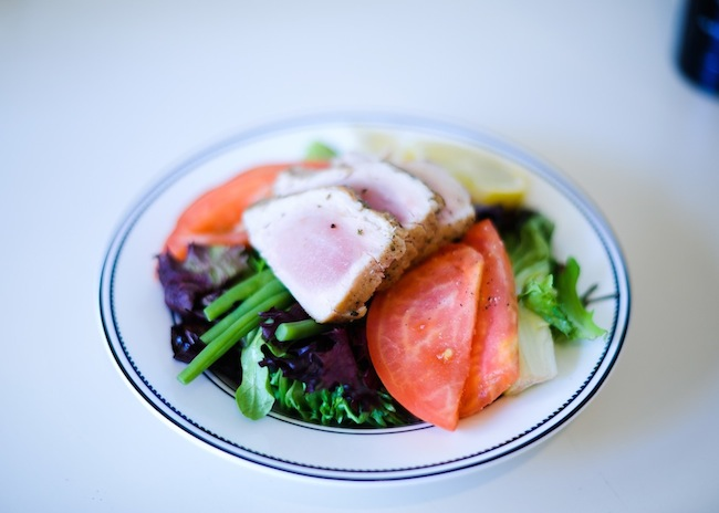 Tuna Nicoise Salad by FashionableHostess.com