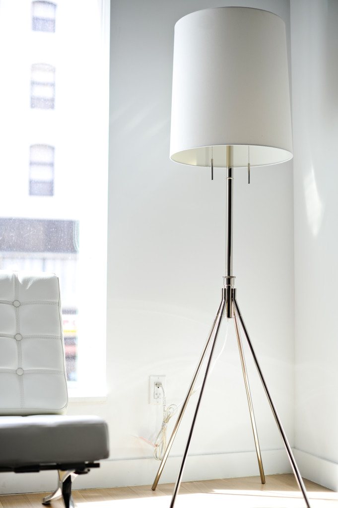 West Elm Adjustable Metal Floor Lamp