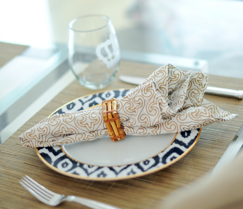 Juliska Bamboo Napkin Rings // FashionableHostess.com