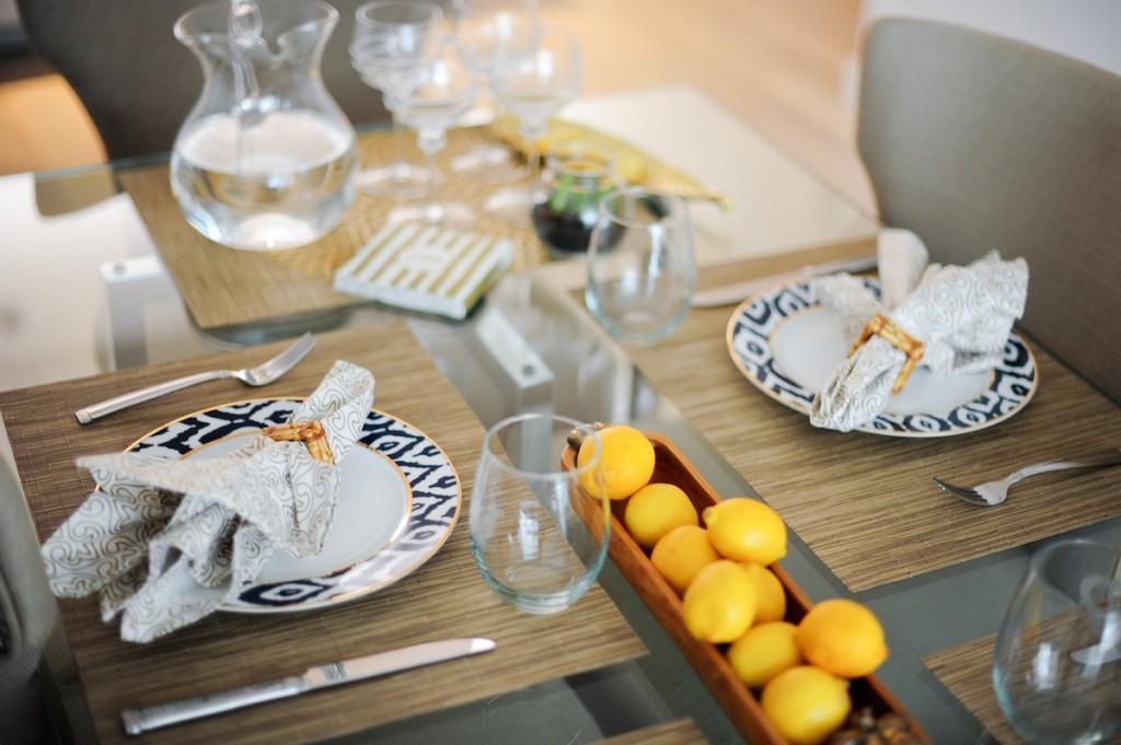Summer Dining at Home // FashionableHostess.com
