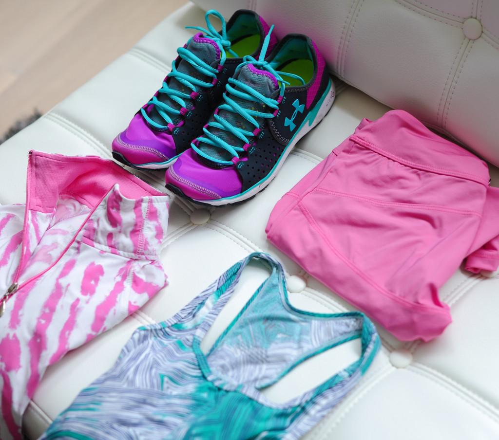 Neon Sneakers, Tie Dye Prints