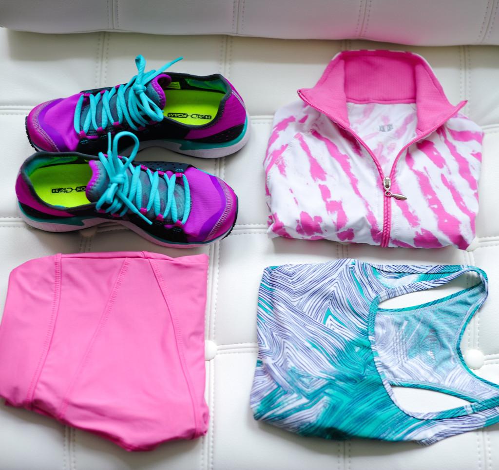 Workout Gear in Neon