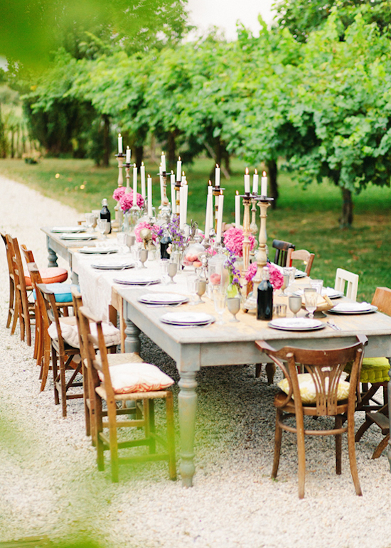 Outdoor Tablesetting