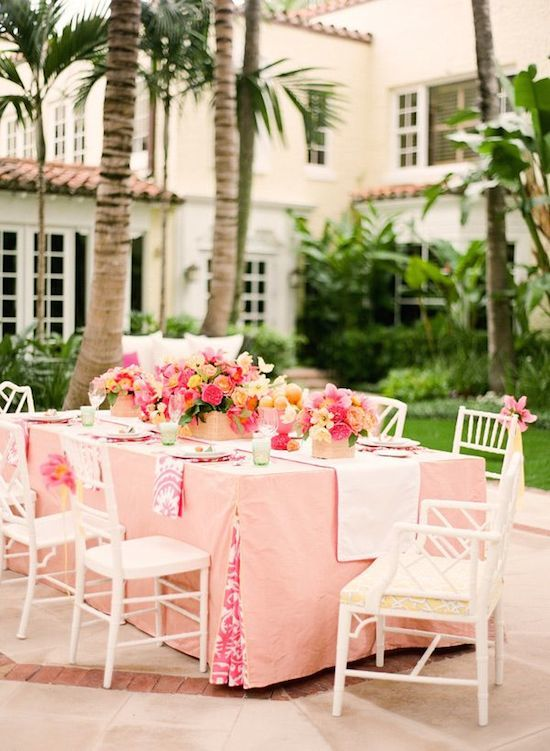 Palm Beach Style Entertaining