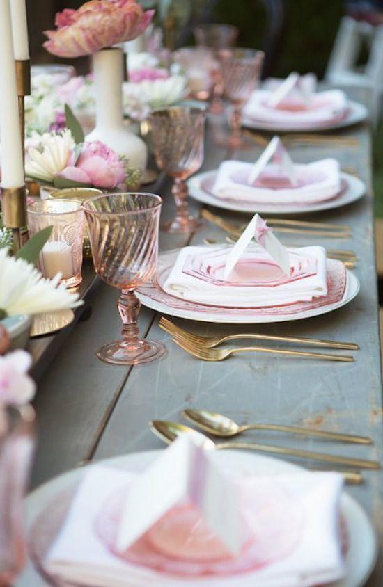 Pink Tabletop details