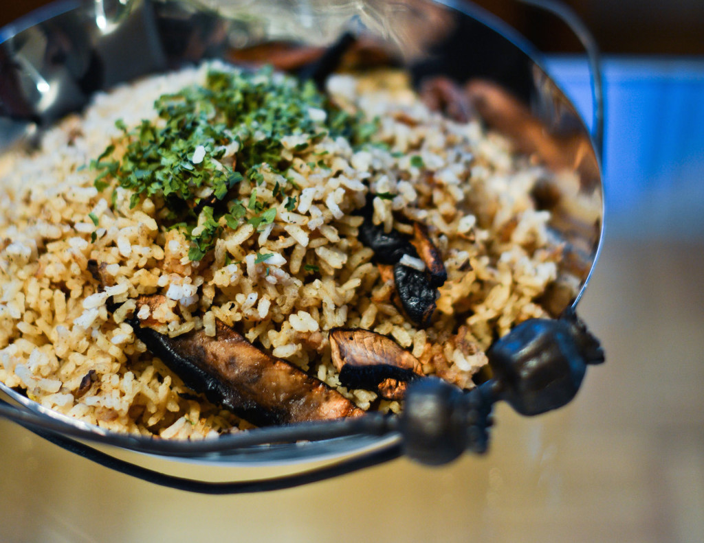 Portabello Mushroom and Brown Rice