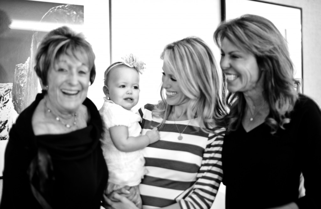 Four generations come together for Mothers Day