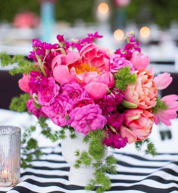 Bright Pink Floral Arranements