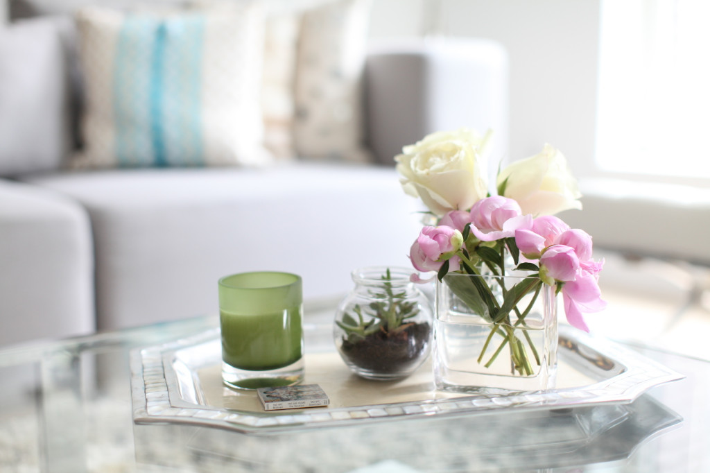 How to Style a Coffee Table, pretty coffee tables