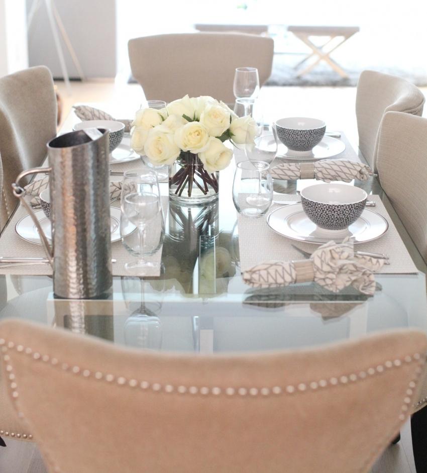 host an elegant black  u0026 white dinner party
