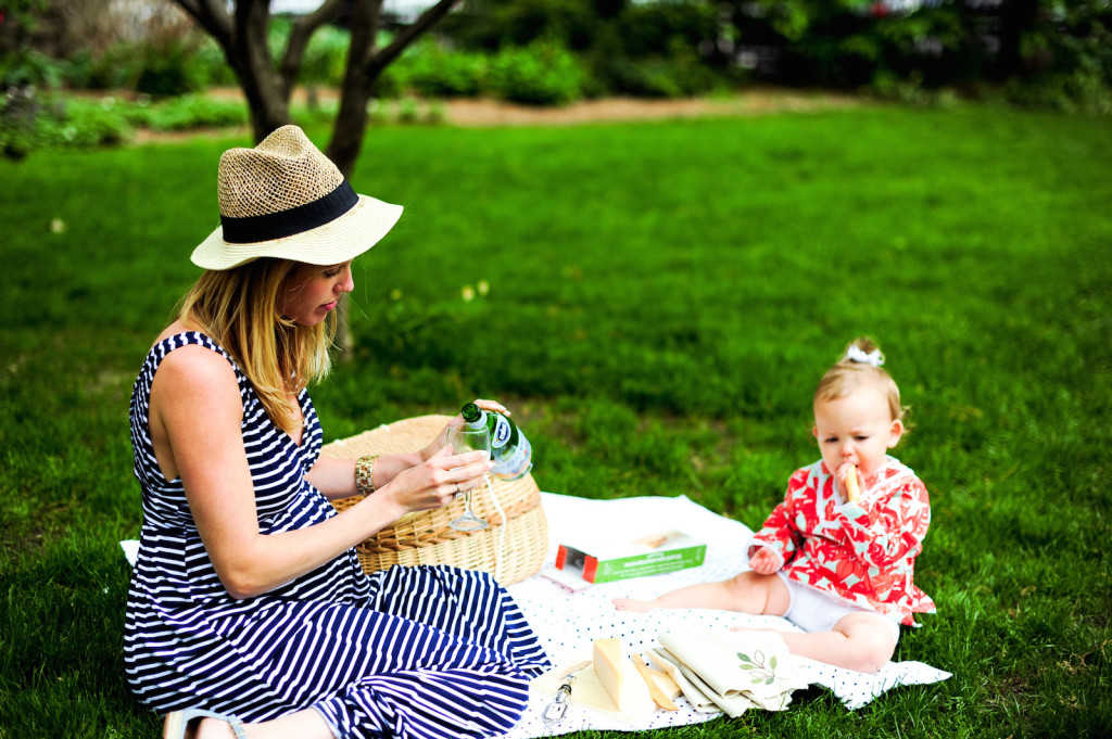 Enjoying a Fourth of July Picnic in Madison Square Park