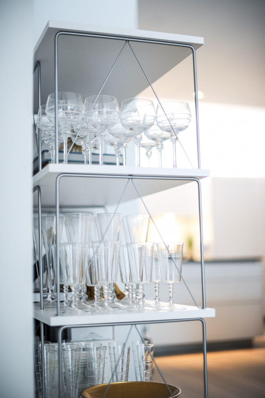 Dining Room: Display Shelves - Fashionable Hostess