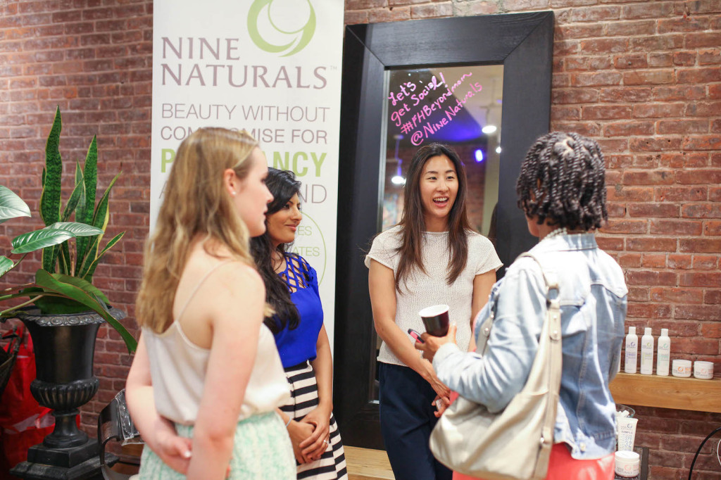 Grace Lee of Nine Naturals Beauty Brand