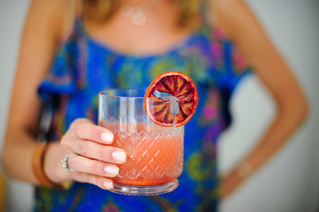 Blood Orange Margarita by Fashionable Hostess