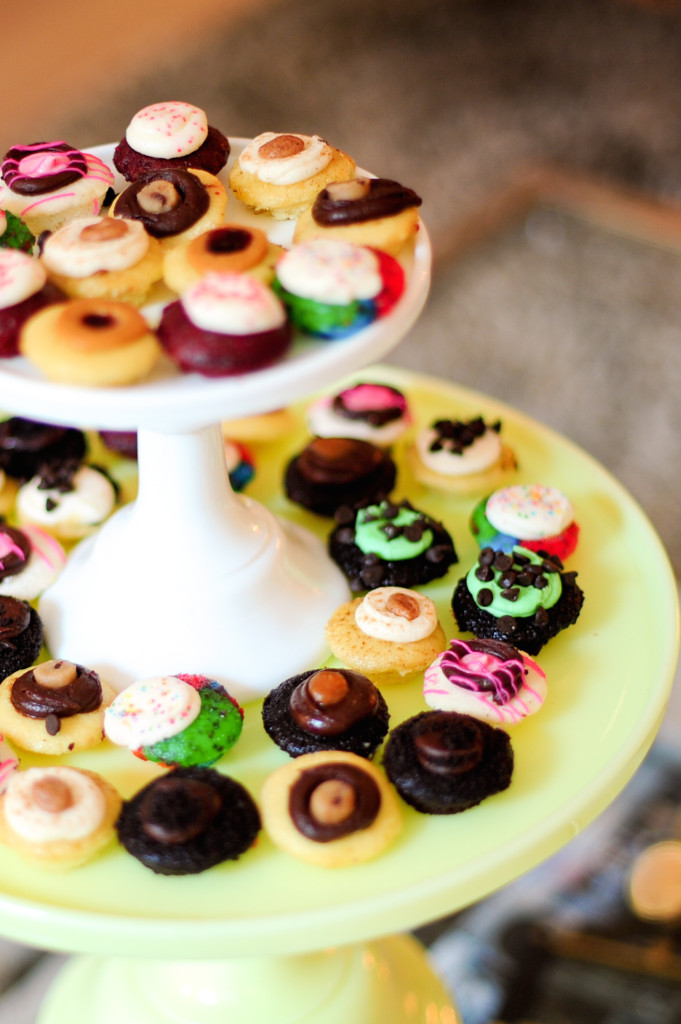 Mini Birthday Party Dessert Idea