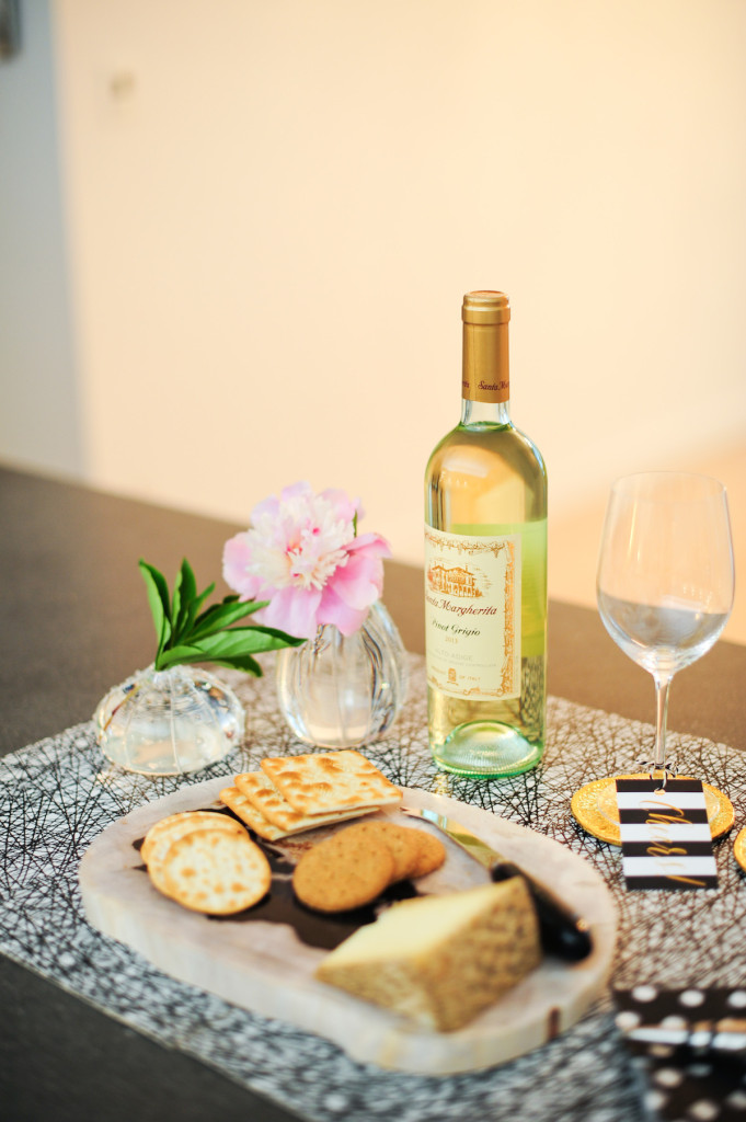 wine and cheese party pairings