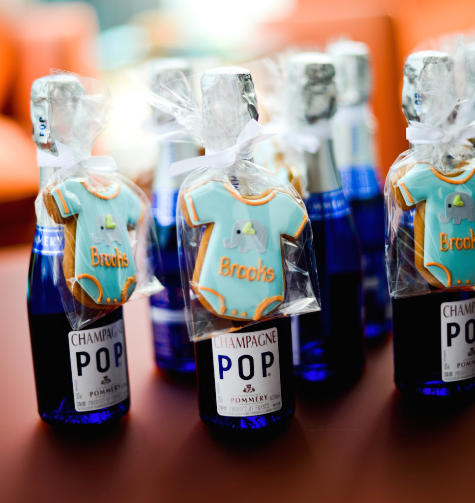 Beautiful DIY Baby Boy Shower Party Favors