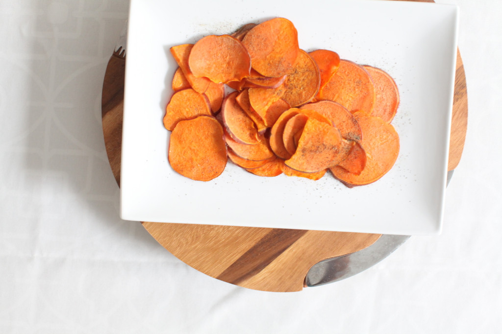Sweet Potato crispy chips