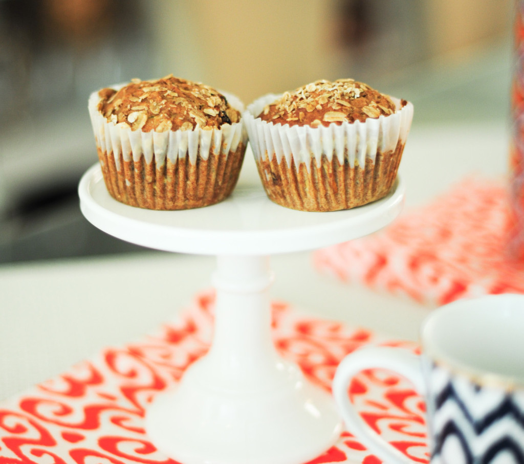 Recipe for Gluten Free Oat Muffins