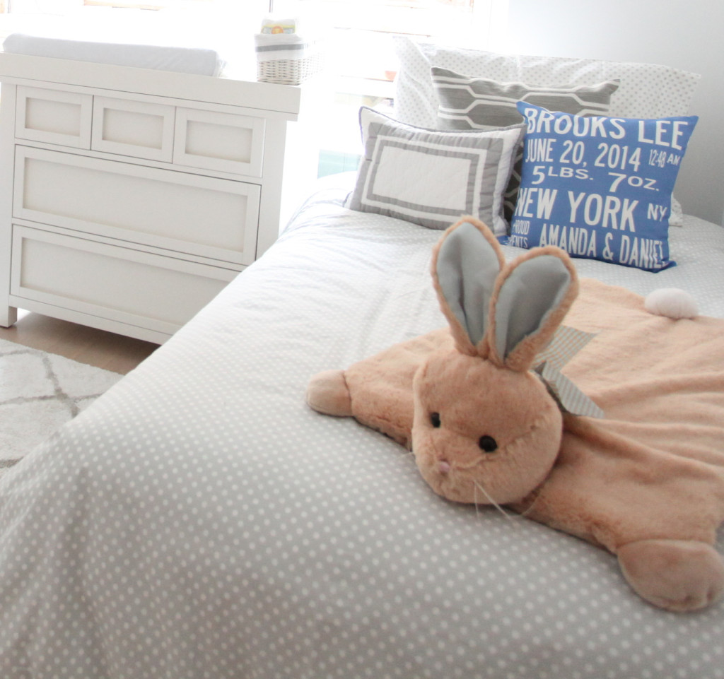 Baby Boy Nursery Rabbit