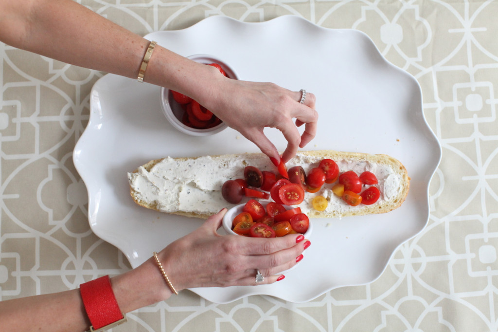 Crostinis make great quick meals that are crowd pleasing