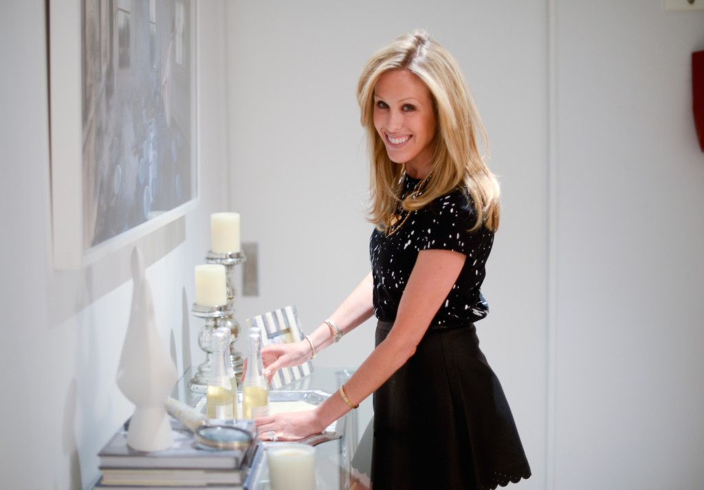 Amanda Gluck of Fashionable Hostess and Le Grand Courtage Champagne
