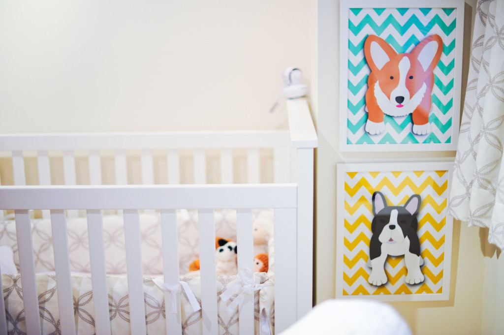 Fashionable Hostess baby nursery