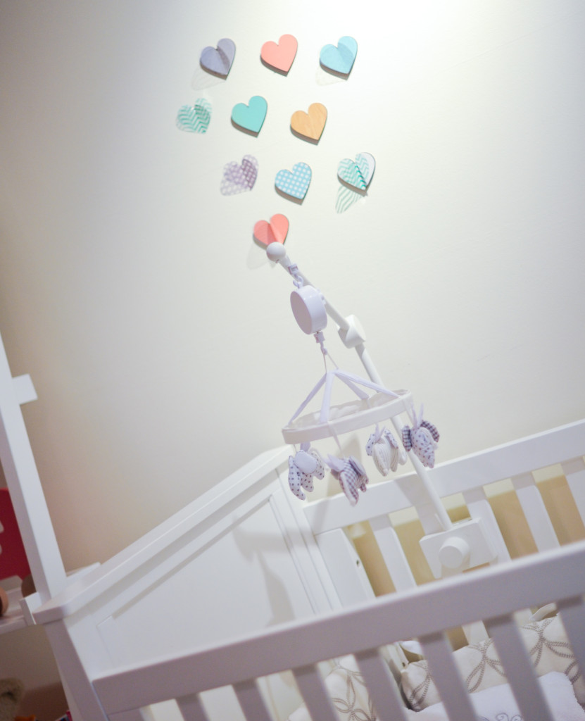Heart Decals for baby room