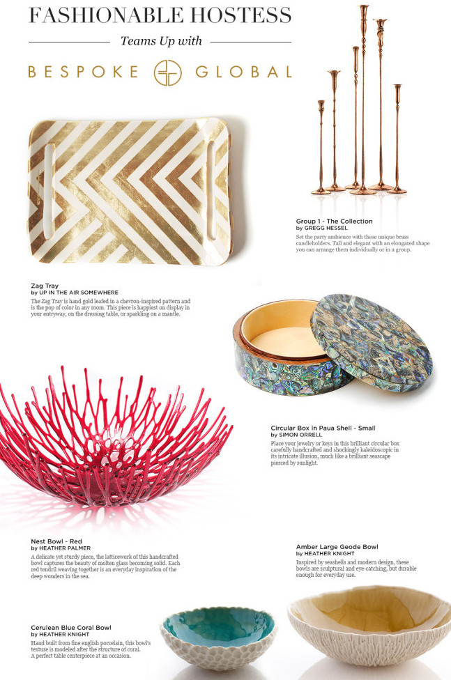 Fashionable Hostess :: Bespoke Curated Picks