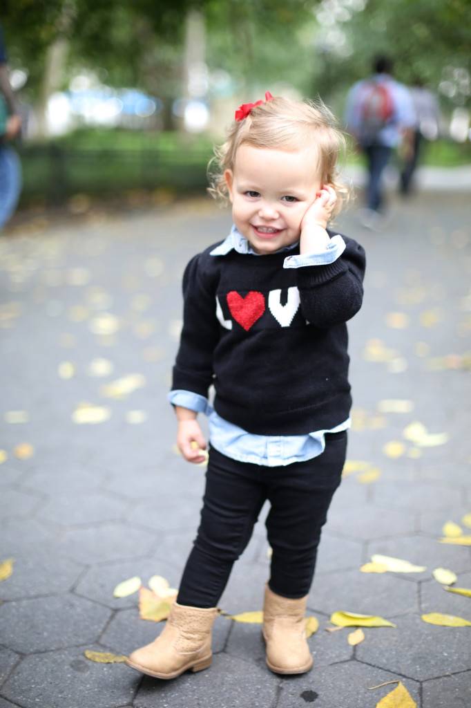 LOVE Sweater for Baby Old Navy #OldNavyStyle