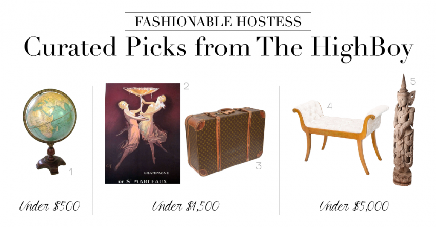 Fashionable Hostess and The High Boy Collaboration