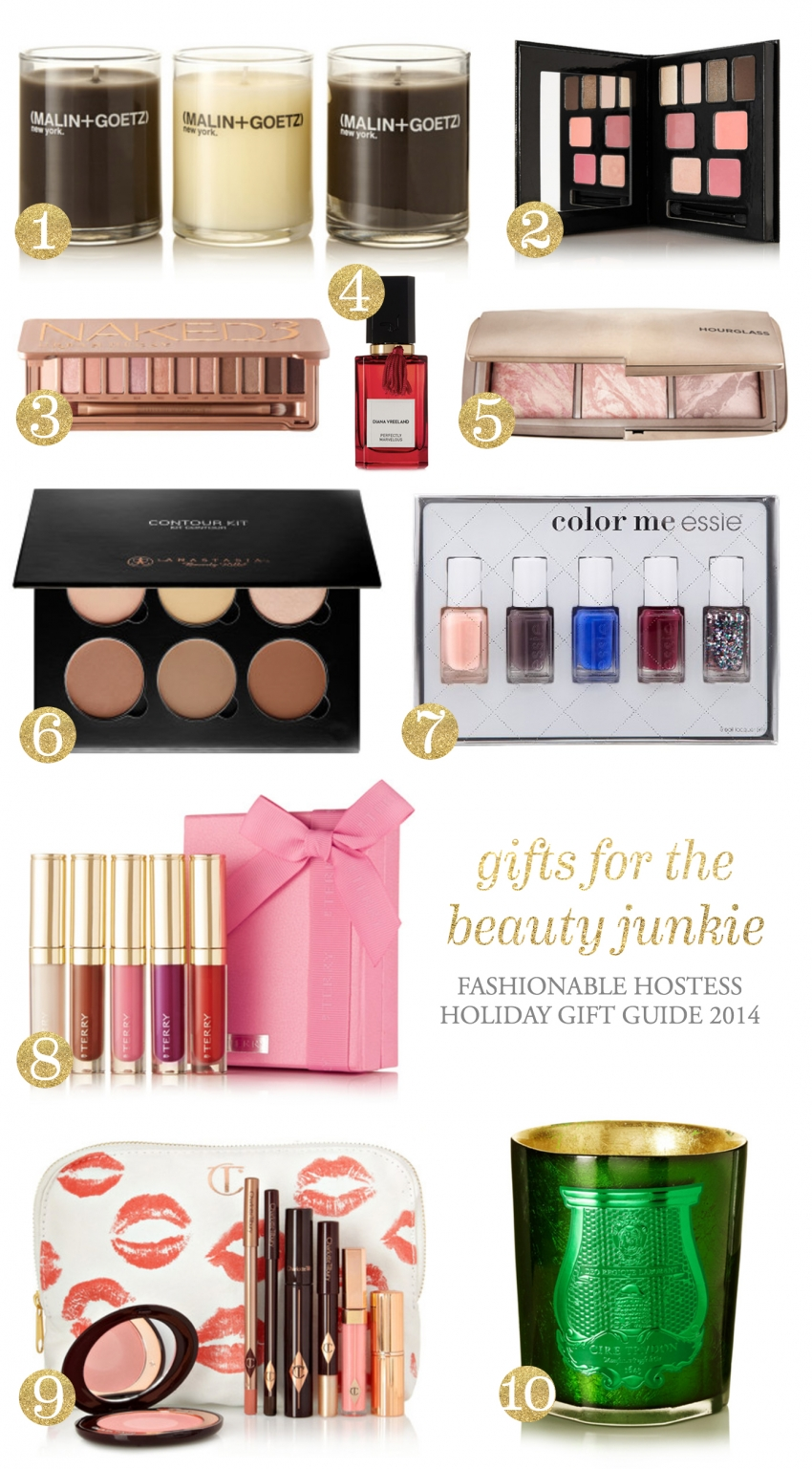 Holiday Hostess - Gift Guide - Beauty Junkie