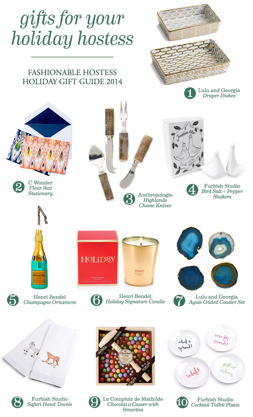 Holiday Hostess Gift Guide for your Hostess