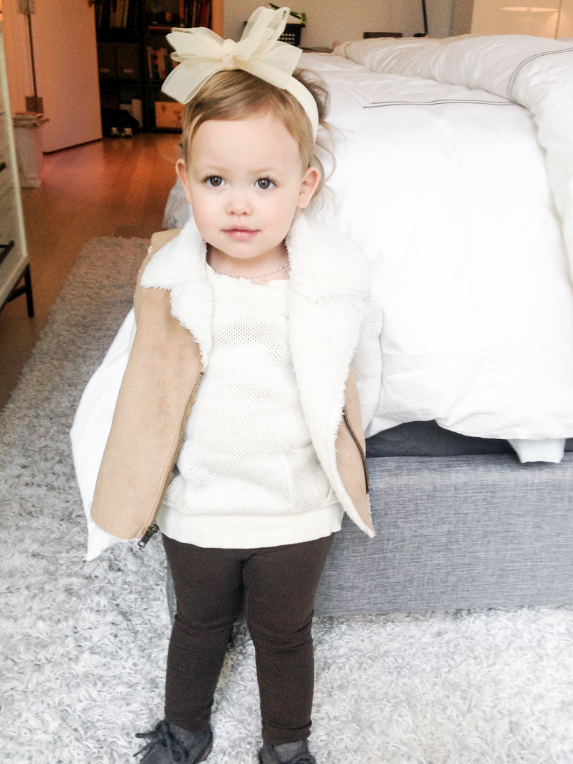 Reese in Old Navy November style