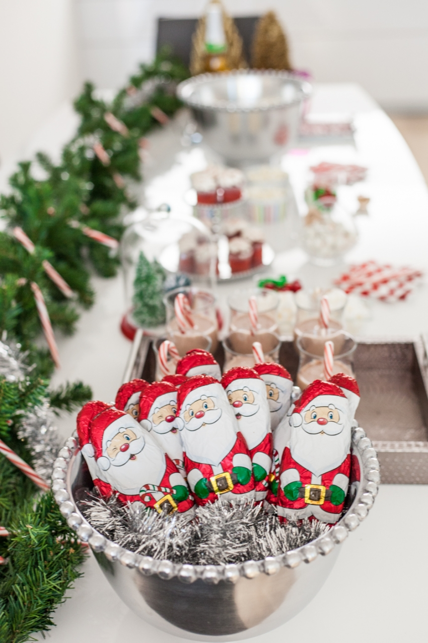 Christmas Dessert Bar & DIY Popcorn Station - Fashionable ...