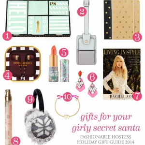 Holiday Hostess - Gift Guide - Girly Secret Santa